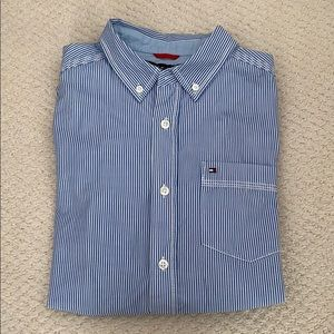 Boys Tommy Hilfiger button down long sleeve